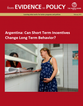 Argentina_Can Short Term Incentives Change Long Term Behavior