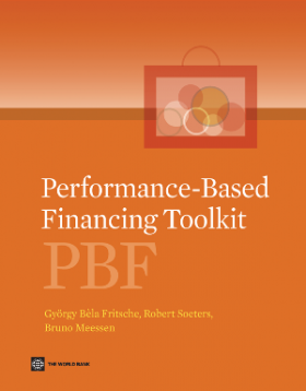 Cover of Performance-Based Financing (PBF) Toolkit
