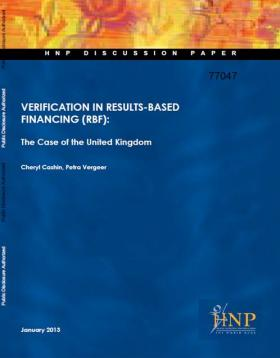 Cover of Verification in RBF - The Case of the United Kingdom