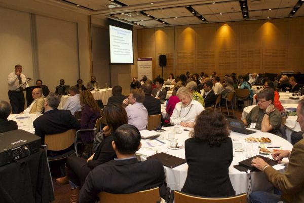 A room full of practitioners hear about RBF experiences